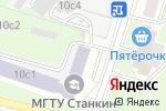 Схема проезда до компании Atlas в Москве