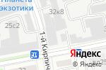 Схема проезда до компании Конструкторское бюро транспортно-химического машиностроения в Москве