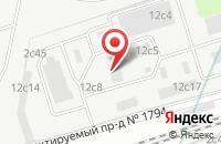 Схема проезда до компании Промтехкор в Москве