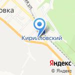 Чемодан на карте Новороссийска