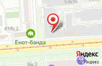 Схема проезда до компании Калиста-Эвиста в Москве