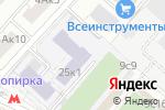 Схема проезда до компании Учебный центр подготовки водителей в Москве