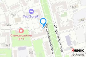 Снять комнату в Москве 1-й Саратовский пр., 4