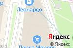 Схема проезда до компании Movenpick в Москве