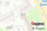 Схема проезда до компании Интер Сервис в Москве