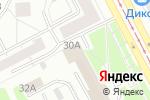 Схема проезда до компании ИрисПринт в Москве