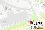 Схема проезда до компании Альтера принт в Москве