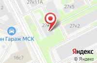 Схема проезда до компании Титул в Москве