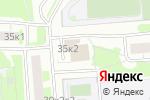 Схема проезда до компании Инженерная служба района Зябликово в Москве
