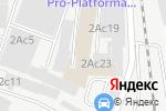 Схема проезда до компании Респект Плюс в Москве