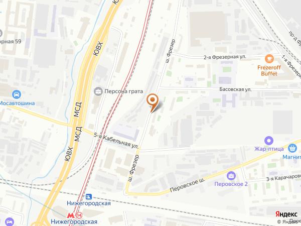 Остановка «Аптека», шоссе Фрезер (5778) (Москва)