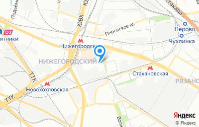 Местоположение на карте пункта техосмотра по адресу г Москва, ул Газгольдерная, д 8 стр 8
