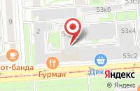 Схема проезда до компании Медиа Принт в Москве
