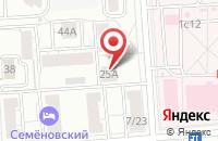 Схема проезда до компании Фотокарта в Москве