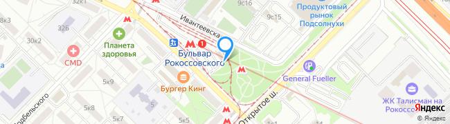 метро Бульвар Рокоссовского