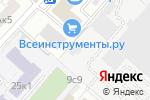 Схема проезда до компании Рыбный ряд в Москве