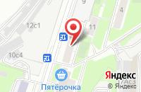 Схема проезда до компании Ангелика в Москве