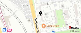 НИВА-ЛАДА4x4 на карте Москвы