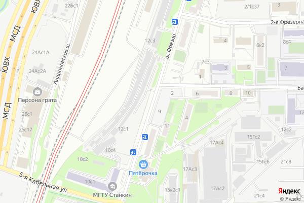 Ремонт телевизоров Фрезер шоссе на яндекс карте
