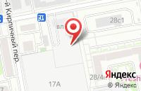 Схема проезда до компании Корсаж и Ко в Москве
