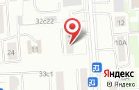 Схема проезда до компании ТВИК и К в Москве