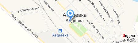 Линейная поликлиника ст. Авдеевка на карте Авдеевки