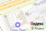 Схема проезда до компании Кров в Москве