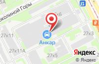 Схема проезда до компании Лукас-Принт в Москве