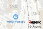 Схема проезда до компании Трилакс в Москве