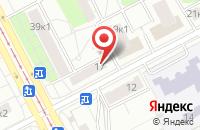 Схема проезда до компании Премьер Дивижн в Москве