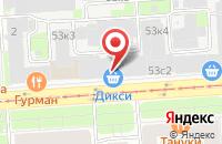 Схема проезда до компании Мона Мтк в Москве