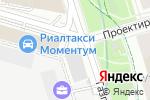 Схема проезда до компании Подземтехстрой в Москве