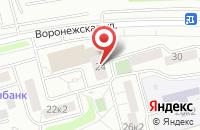 Схема проезда до компании Орей в Москве