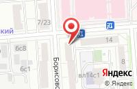 Схема проезда до компании Редизайн сайта Альт Москва в Александровке