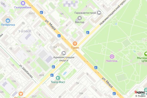 Ремонт телевизоров Город Мытищи на яндекс карте