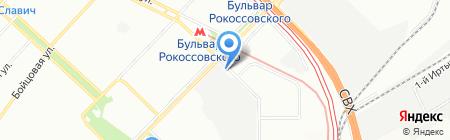 Мечта+ на карте Москвы