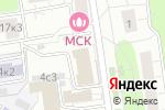 Схема проезда до компании Гион в Москве