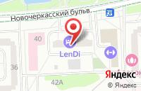 Схема проезда до компании Пиар-Партнер в Москве