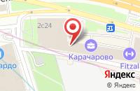 Схема проезда до компании Еврокомфорт в Москве