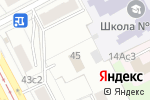 Схема проезда до компании Управление на транспорте МВД России по Центральному федеральному округу в Москве