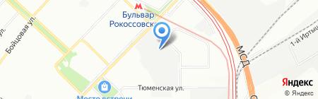 Орион металл на карте Москвы