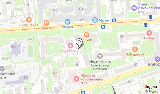 Соколиная гора. Схема проезда в Москве