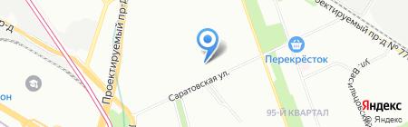 Специальная (коррекционная) общеобразовательная школа-интернат №65 на карте Москвы