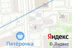 Схема проезда до компании Измайлово Lane в Москве