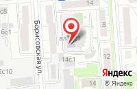 Схема проезда до компании Визард Информ в Москве