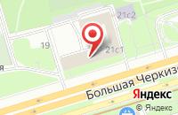 Схема проезда до компании Информрегистр в Москве
