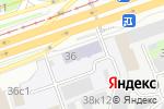 Схема проезда до компании ВНИГНИ в Москве