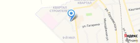 Бомбей на карте Авдеевки