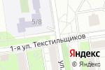 Схема проезда до компании Айсберри в Москве