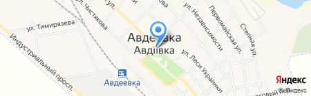 Авдеевская центральная городская библиотека на карте Авдеевки